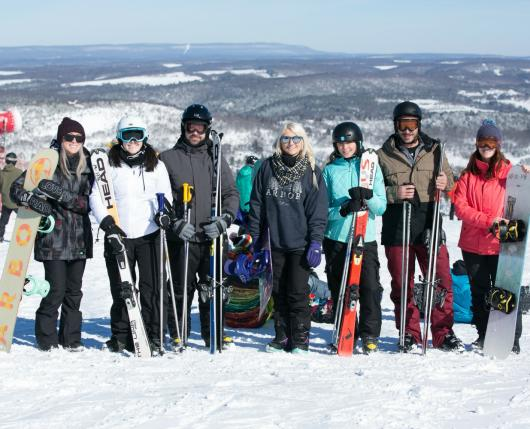 Millennial Group on Snow 2018