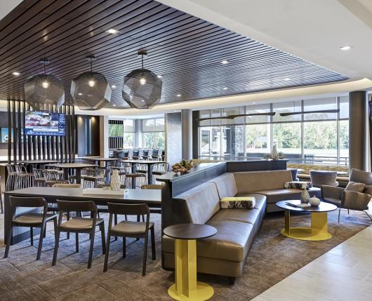 Relax in the lobby or grab a beverage in the Guest Lounge