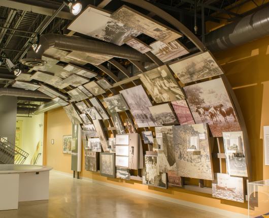 Wall of Photos Sigal Museum