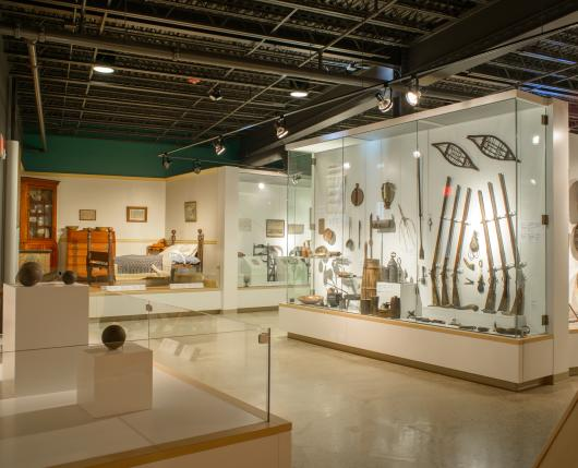 exhibits at sigal museum