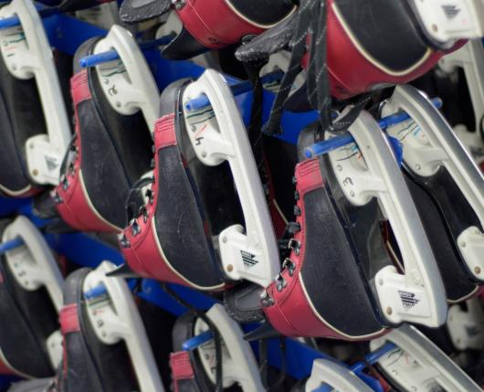 Steel Ice Center Skates (1)