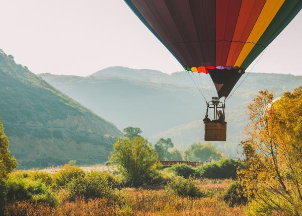 Autumn Aloft Balloon