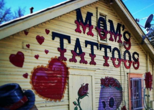 Moms Tattoos Exterior