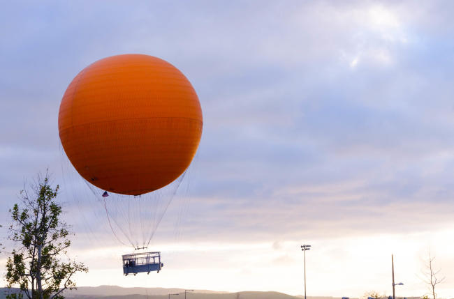 The Great Park Balloon at Orange County Great Park