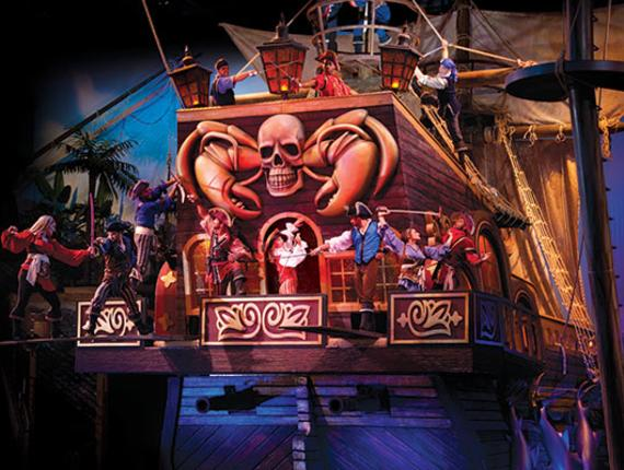Pirates Voyage Fun Feast Adventure