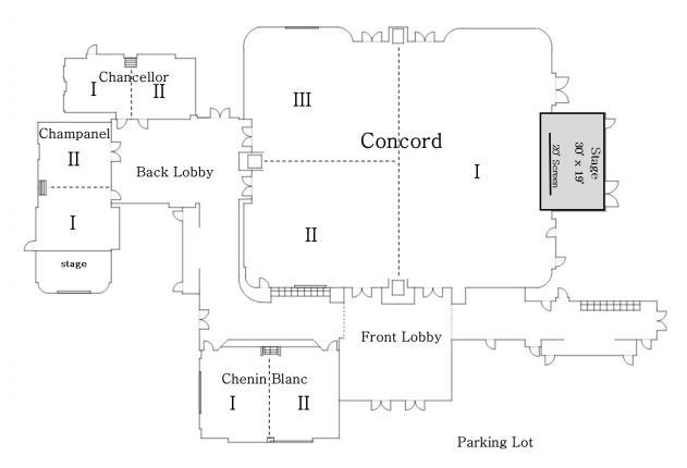 Grapevine Convention Center Floor Diagram