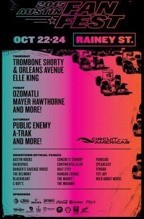 Rainey Street Fan Fest 2015