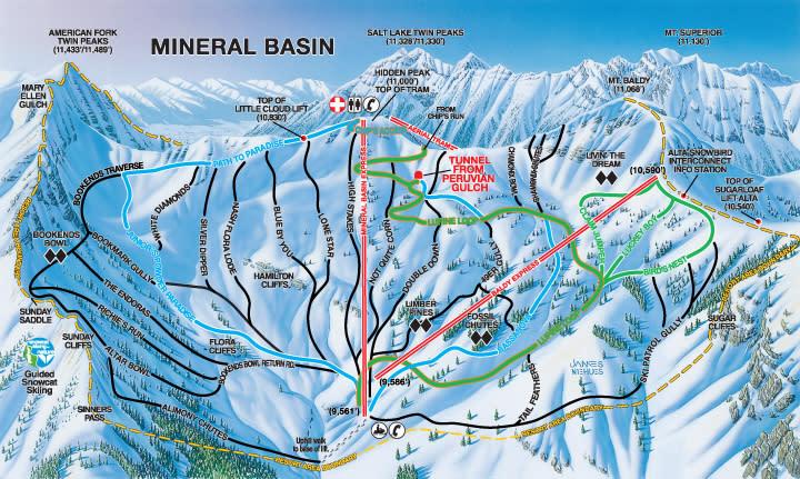 Snowbird Trails Mineral Basin