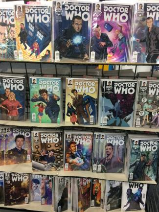 Who North America Comics