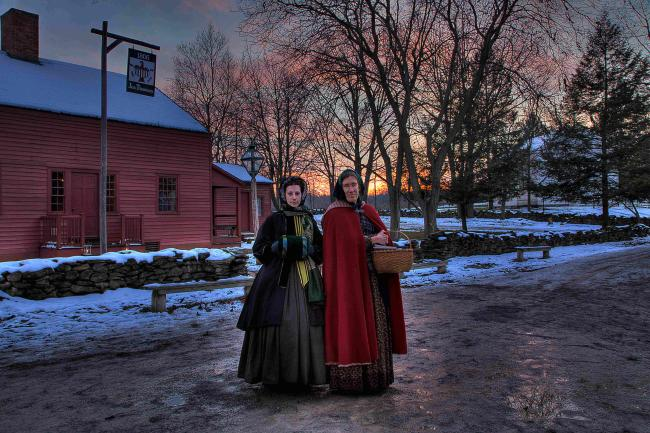Yuletide in the Country Tours at Genesee Country Village Museum