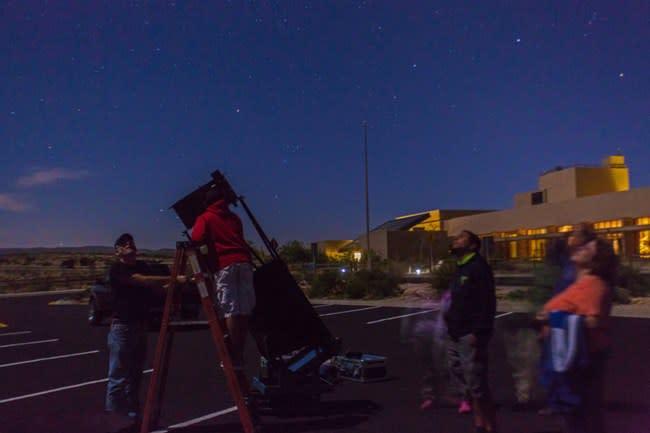 Carlsbad Caverns Dark Skies Party