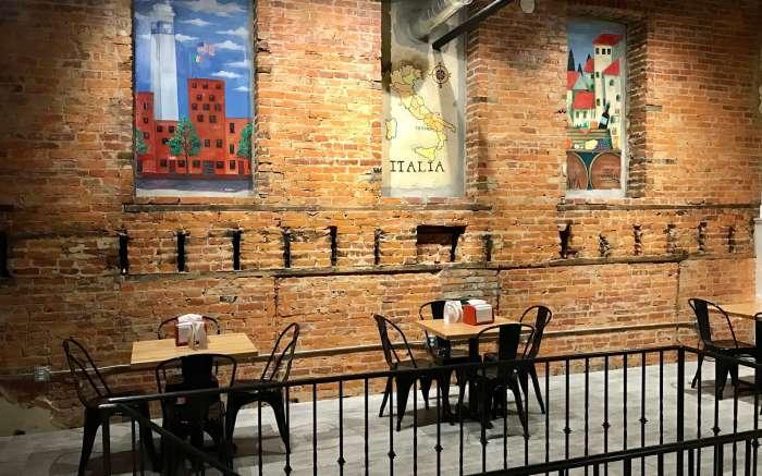 Mezzanine at Cugini Cafe