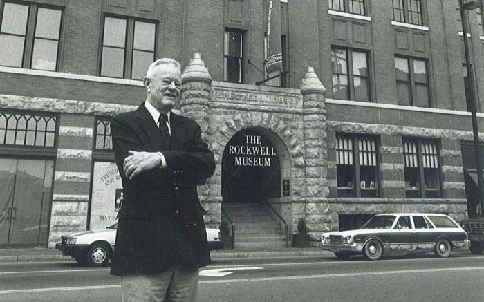 Museum Founder Bob Rockwell