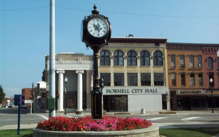 Hornell Clock Tower