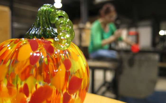 Make-Your-Own Glass Pumpkin