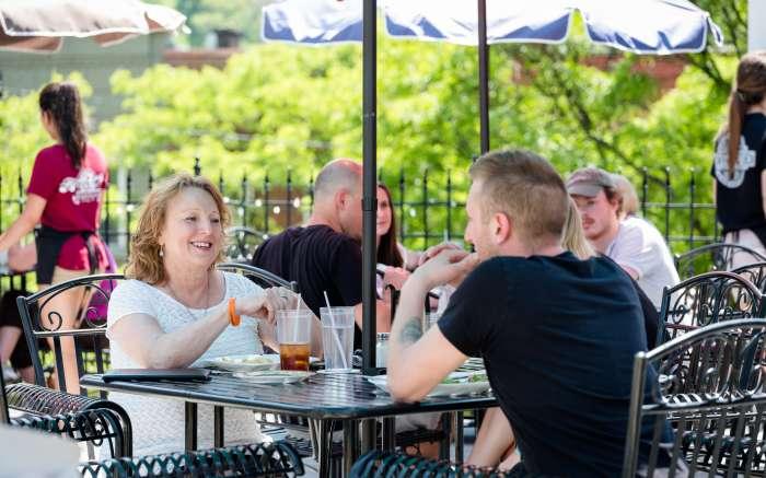 Market Street patio dining