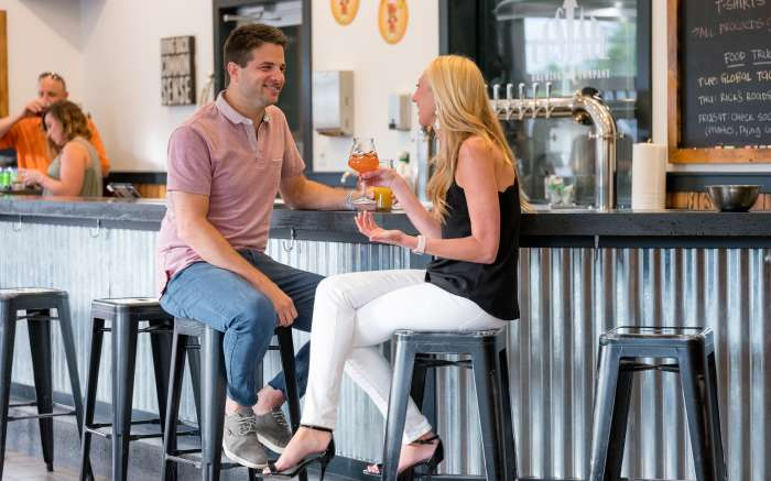 Upstate Brewery tasting room