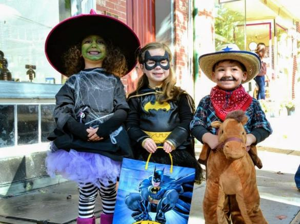 halloween in downtown frederick