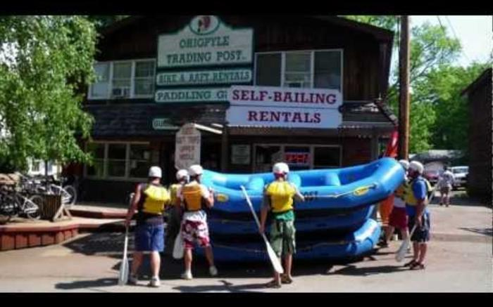 Ohiopyle Rafting and Activities with Ohiopyle Trading Post and River Tours