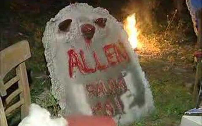 Allen's Haunted Hayride