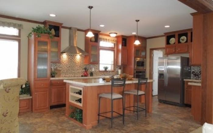 Hemminger Homes, Inc 2013 Antique Maple Cabinets Video