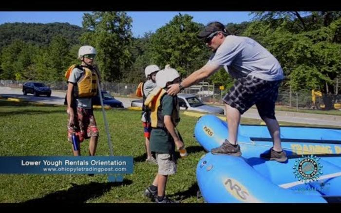 Ohiopyle Lower Yough Rentals Orientation with Ohiopyle Trading Post and River Tours