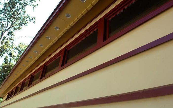 Frank Lloyd Wright's Duncan House at Polymath Park