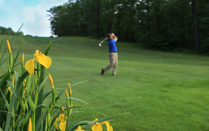 Pristine 18-hole golf course at Hidden Valley Resort