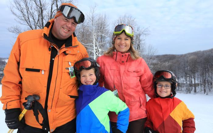 Families first at Hidden Valley!