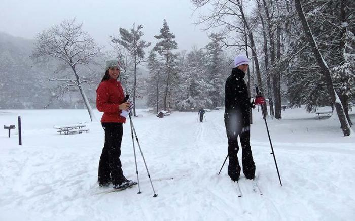 Kooser XC Skiing - Photo Credit: Jill Fraley