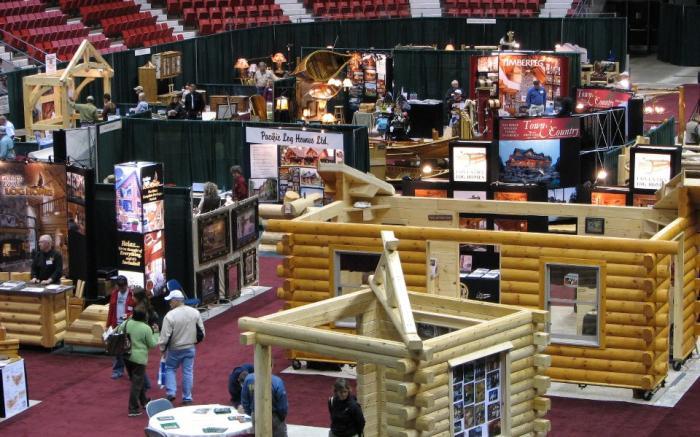 Johnson's Log Home & Timber Frame Show