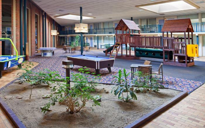 Indoor Courtyard