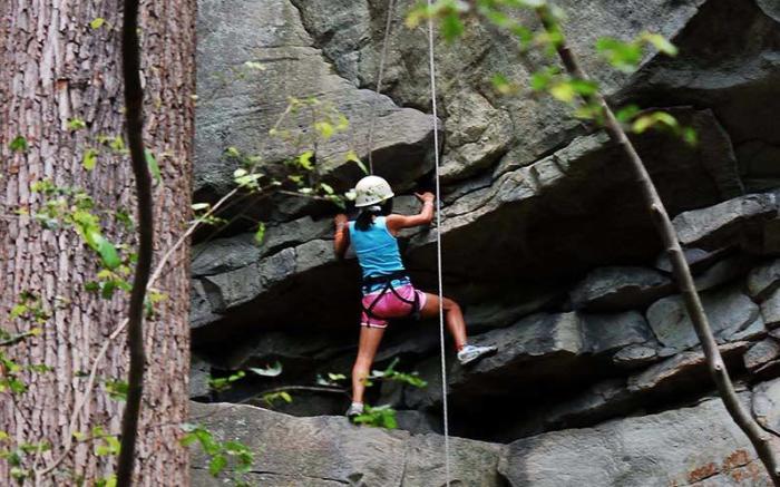 Wilderness Voyageurs - Rock Climbing