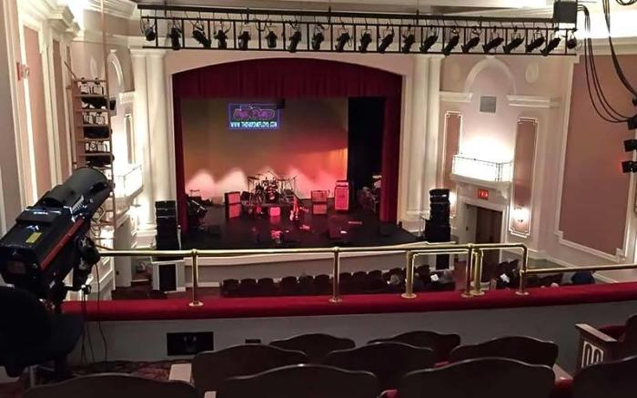 Inside The Arcadia Theater