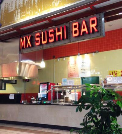 MX Sushi Bar Exterior