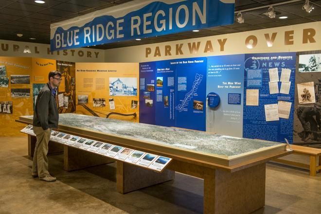Blue Ridge Parkway Visitor Center Roanoke