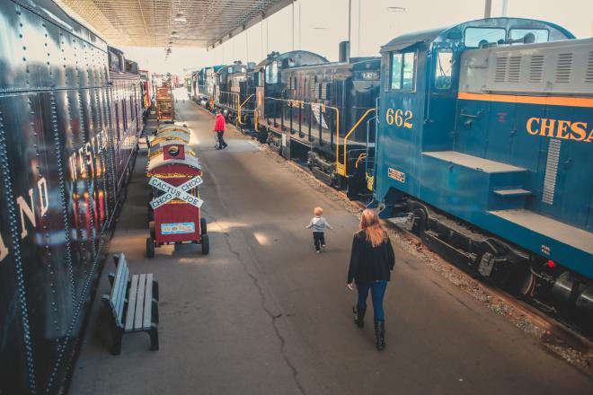 Virginia Museum of Transportation - Trains