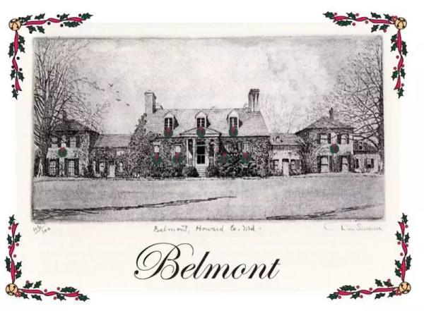 Vintage Image of Belmont Manor