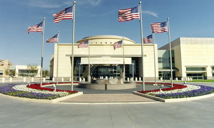 George H.W. Bush Presidential Library & Museum Exterior