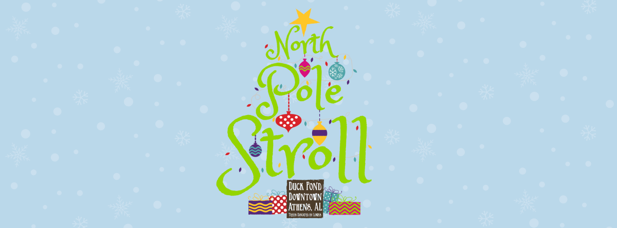 North Pole Stroll in Downtown Athens