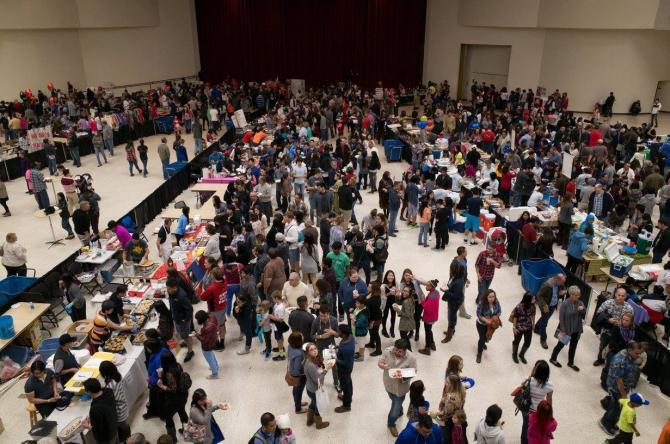 crowds gather at Wichita Asian Festival in Wichita KS