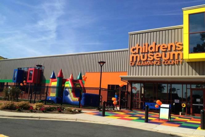 Outside Children's Museum