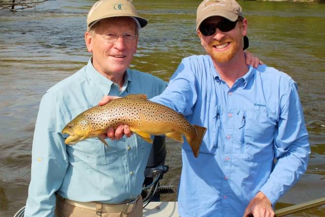 Current Works Fly Fishing Guide Service