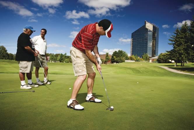 Golfing at Grand Traverse Resort and Spa