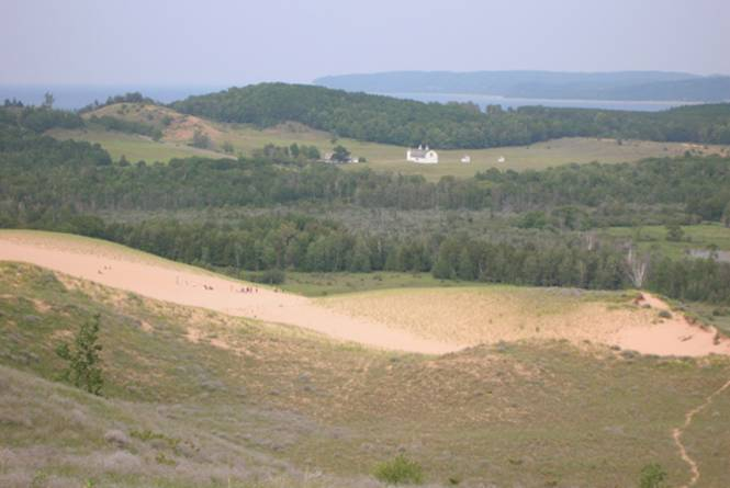 Sleeping Bear Dunes: Cottonwood Trail