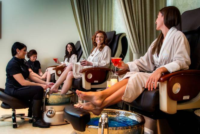 Pedicures at Spa Grand Traverse