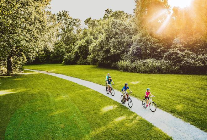Roanoke Greenway Biking