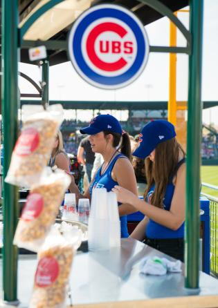 Sloan park food stand