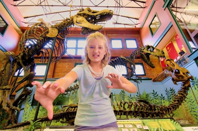 Blog Size Museum of World Treasures T Rex Girl