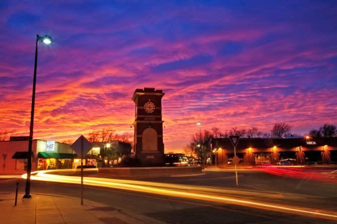 Blog - Delano Street Sunset